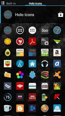 Holo Icons (Nova-Apex-Go-ADW)
