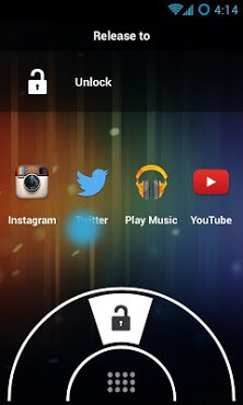 Swipe Lock Screen Launcher