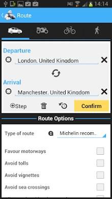 ViaMichelin - Route planner,maps-2