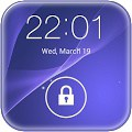 Xperia z2 live wallpaper lock-app