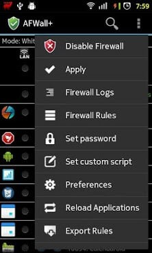 AFWall+ (Android Firewall +)-1