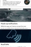 Heads-up Notifications
