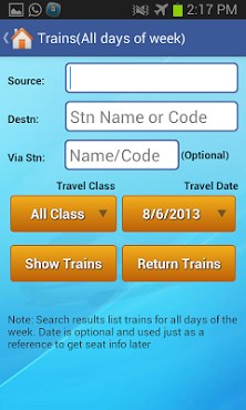 Indian Rail Train & IRCTC Info-1