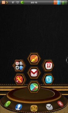 ... Next Launcher 3D Leather Theme|•| ~ - الكاتب: ITold-YouSo
