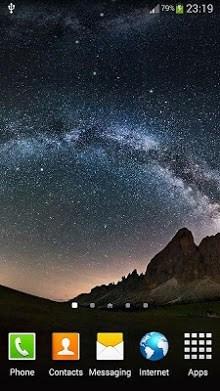 Night Sky Live Wallpaper-2