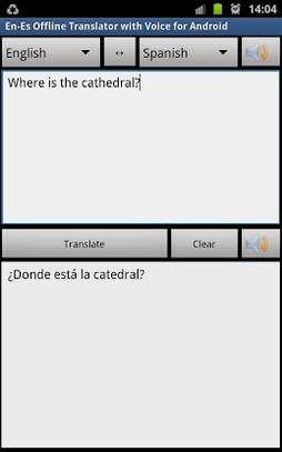 Offline Translator Spanish App