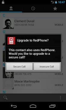 RedPhone - Secure Calls-2