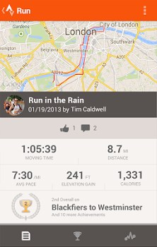 Strava Running and Cycling GPS-1