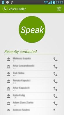 Voice Dialer (Voice Dialing)-1