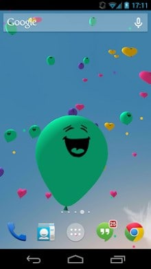 Balloons 3D live wallpaper-1