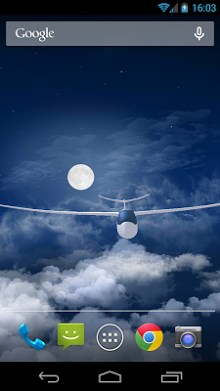 Flight in the night sky FREE-1