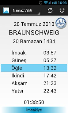 Prayer Times (Namaz Vakti)-1