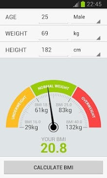 BMI Weight Calculator-1