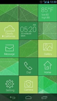 Cube GO Launcher Live Theme-2