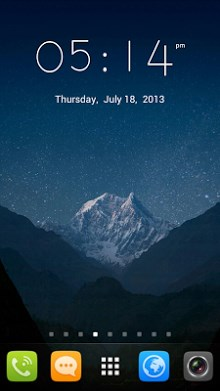 GO Launcher EX UI5.0 theme-1