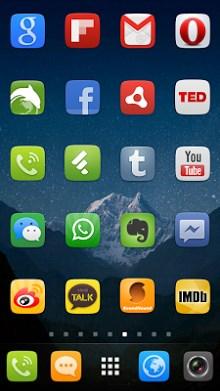 GO Launcher EX UI5.0 theme-2