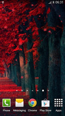 Red Leaves Live WallPaper-2