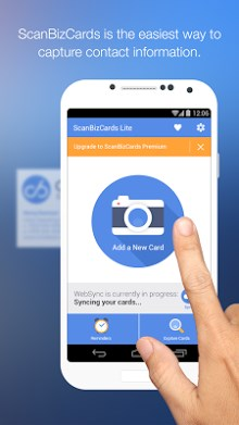 ScanBizCards Lite - Scan Card-1