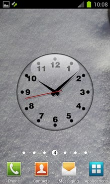 Clock Live Wallpaper Free-2