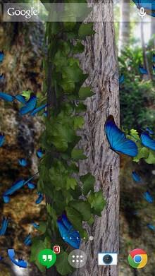 Butterflies 3D live wallpaper-2