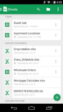 Google Sheets-1