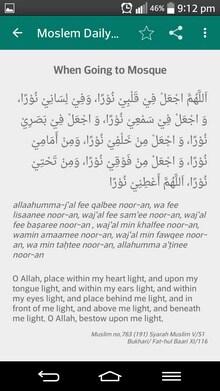 Muslim Daily Duas-2