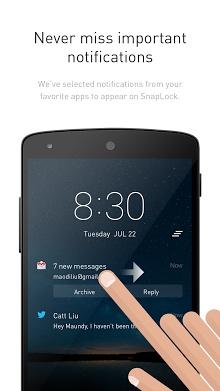 SnapLock Smart Lock Screen-1
