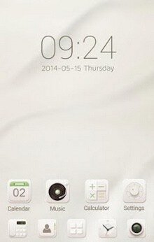 Soft cream GO Launcher Theme-1