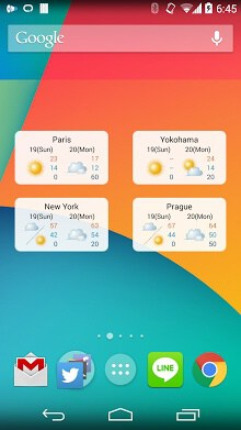 World Weather Widget-1
