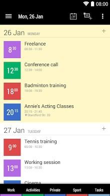 Business Calendar 2-1