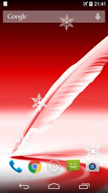 Feather Live Wallpaper-1