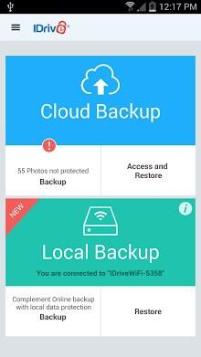 IDrive Online Backup-1
