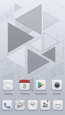 Pale GO Launcher Theme-1