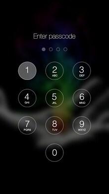 Retina Keypad Lockscreen-2