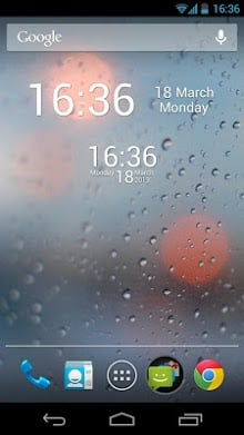 Simple Digital Clock Widget-2