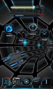 Time Battle Next 3D Theme LWP-1