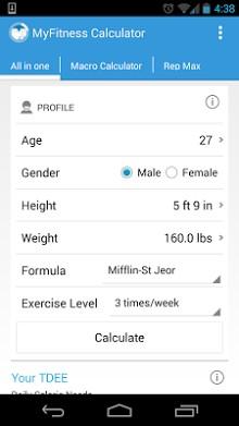 MyFitness Calculator-2