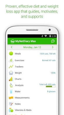 MyNetDiary Calorie Counter-1