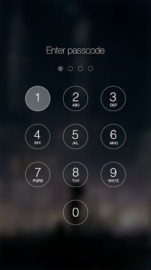 Passcode Keypad Lock Screen-1