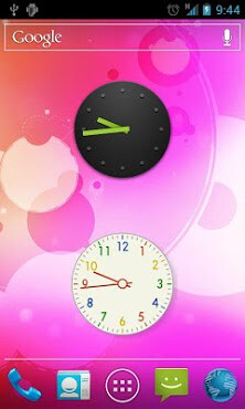 Stock Clock Widget-2