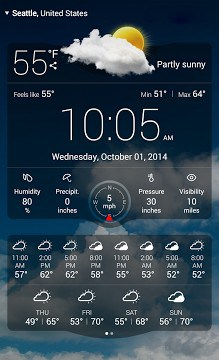 Weather Live with Widgets Free-1