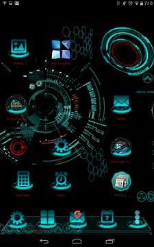 Next Launcher theme 3d free-1