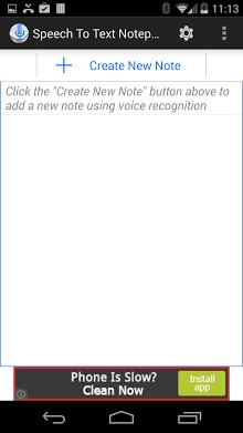 Speech To Text Notepad-1
