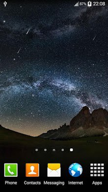Star Night Live Wallpaper-1