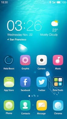 Chromatic Hola Launcher Theme-1