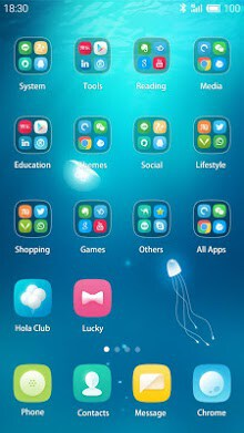Chromatic Hola Launcher Theme-2