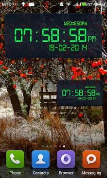 Electronic Digital Clock-1