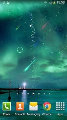 Meteor Shower FireWorks-2