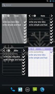 Note To Do. Widget-1