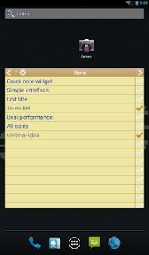 Note To Do. Widget-2